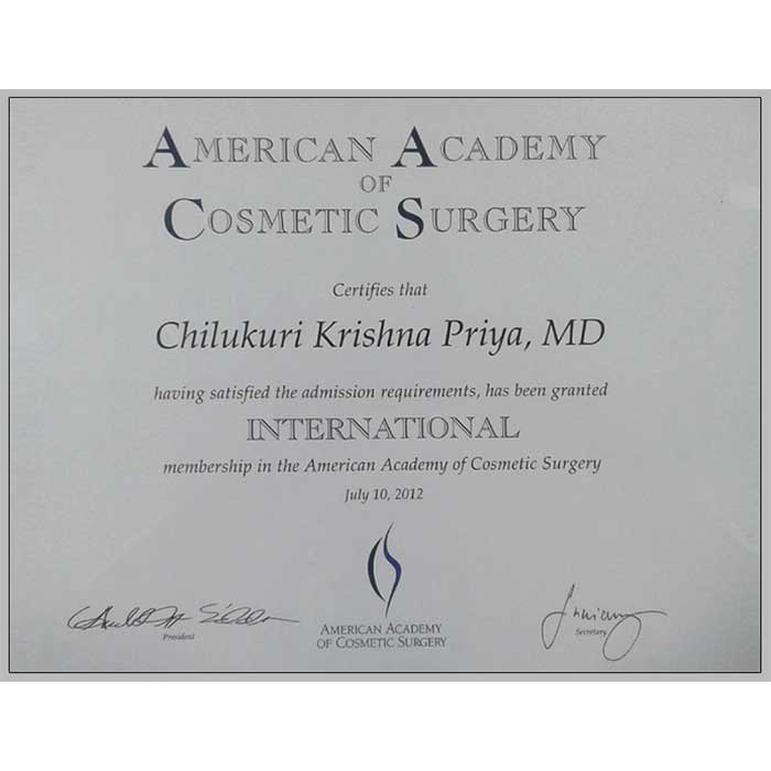 American Academy cosmetic sugery