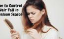 hair fall control in monsoon